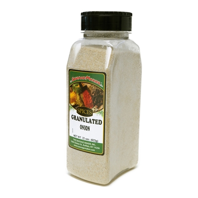 Onion, Granulated, 22 oz.