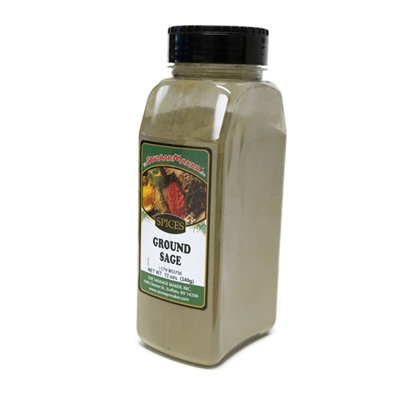 Sage, Ground, 12 oz.