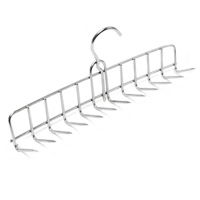 12-Prong Stainless Steel Bacon Hanger
