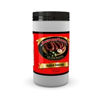Polish Sausage Seasoning, 1 lb 8 oz.