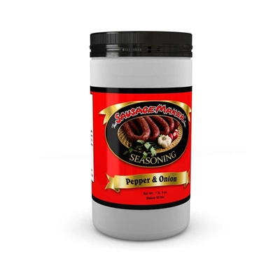 Pepper & Onion Sausage Seasoning, 1 lb. 4 oz.
