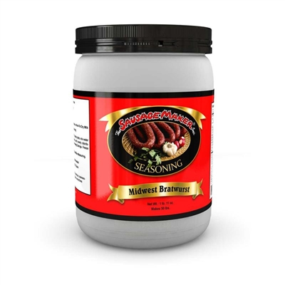 Midwest Bratwurst Seasoning, 1 lb. 10 oz.