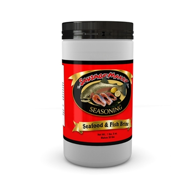 Seafood & Fish Brine Seasoning, 1 lb. 8 oz.