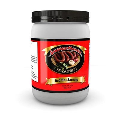 Red Hot Sausage Seasoning, 1 lb. 14 oz.