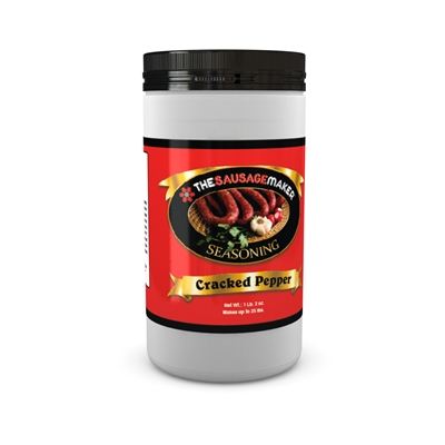 Smoked Cracked Pepper Seasoning, 1 lb. 2 oz.