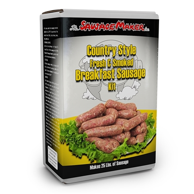 Country Style Breakfast Sausage Kit