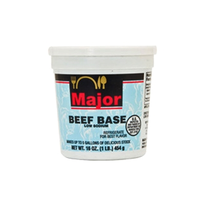 Low Sodium Beef Base, 16 oz.