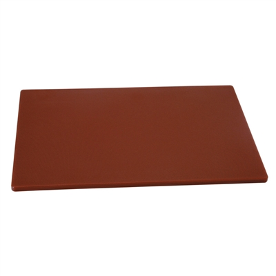 "Cutting Board, 18"" x 12"" x 1/2"", Brown"