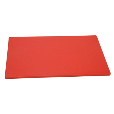 "Cutting Board, 18"" x 12"" x 1/2"", Red"