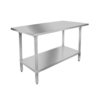 "Stainless Steel Table, 24"" x 48"""