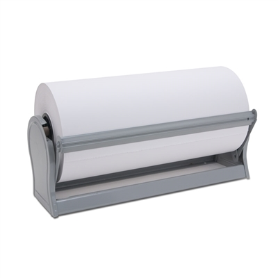 "18"" White Freezer Paper with Dispenser"