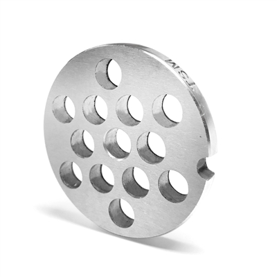 "#8 Stainless Steel 3/8"" Grinder Plate"
