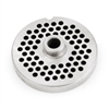 "#10/12 Stainless Steel 3/16"" Grinder Plate with Hub"