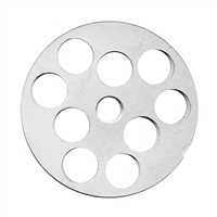 "#22 Stainless Steel 3/4"" Grinder Plate"