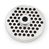 "#22 Stainless Steel 1/4"" Grinder Plate with Hub"