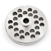 "#22 Stainless Steel 3/8"" Grinder Plate with Hub"