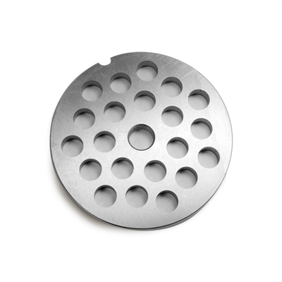 "#32 Stainless Steel 1/2"" Grinder Plate"