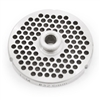 "#32 Stainless Steel 1/4"" Grinder Plate with Hub"