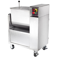 110 lb. Stainless Steel Commercial Meat Mixer