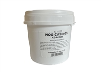 "42-44mm (~1 3/4"")  Natural Hog Casings"