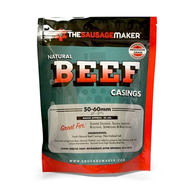 Home Pack Natural Beef Casings, 1 Pack