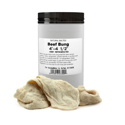 "102-114mm (4""-4 1/2"") Natural Beef Bung"