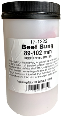 89-102mm Natural Beef Bung
