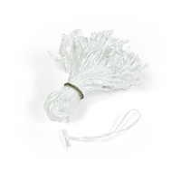 "4"" Pre-Tied Poly Loops, 100 Pack"