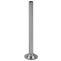 "1/2"" Stainless Steel Stuffing Tube for 5 lb. Sausage Stuffers"