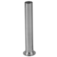 "1 1/4"" Stainless Steel Stuffing Tube for 5 lb. Sausage Stuffers"