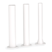 Plastic Stuffing Tubes for 15/20/25/30 lb. Sausage Stuffers, Set of 3