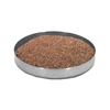 "Stainless Steel Sawdust Pan, 8"" Diameter"