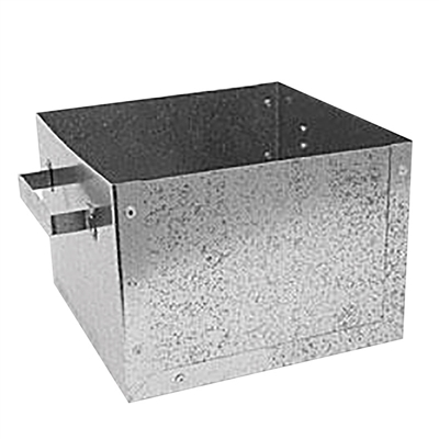 Stainless Steel Sawdust Box