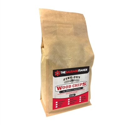 Wild Cherry Woodchips, Fine Cut, 1.5 lb. Bag