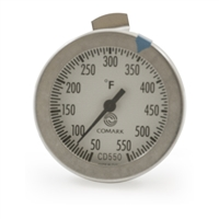 "Candy/Deep Fry Dial Thermometer, 12"" Stem"
