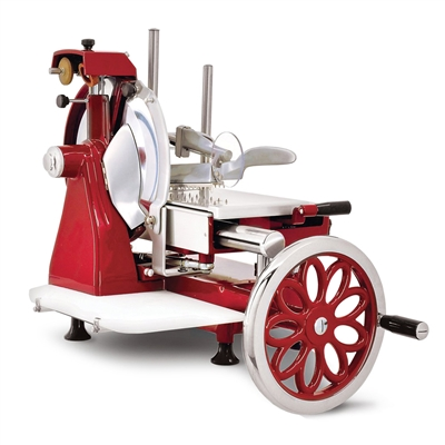 "12"" Manual Meat Slicer with Flywheel"
