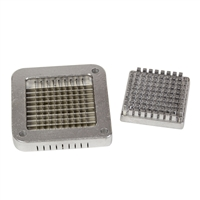 "1/4"" French Fry Cutting Plate & Pusher"