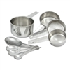 Stainless Steel Measuring Spoons & Cups