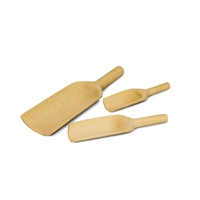 Set of 3 Wooden Scoops