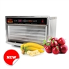 Harvest Fiesta 5 Tray Digital Food Dehydrator with S/S Shelves