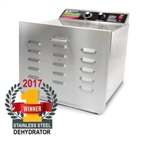 D-10 Food Dehydrator with Stainless Steel Shelves