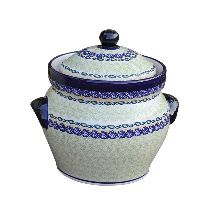 Decorative Fermenting Crock Pot 5l