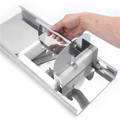 Pusher Attachment for Stainless Steel Cabbage Shredder