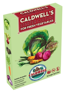 Caldwell's Vegetable Starter Culture