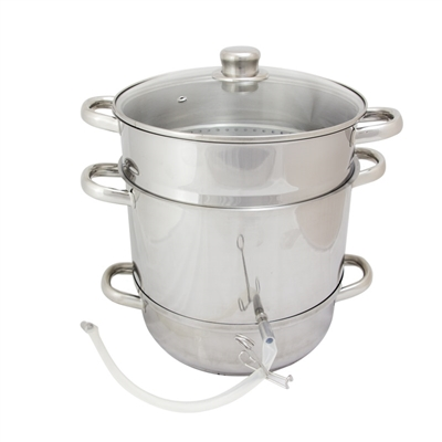 Stainless Steel Steam Juicer, 7.5 Qt.