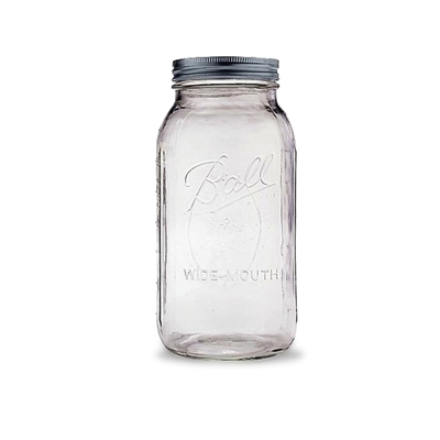Ball 2 Quart Wide-Mouth Canning Jar (64 oz.)