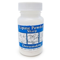 Lipase Powder, Capilase (Very Sharp), 1 oz.