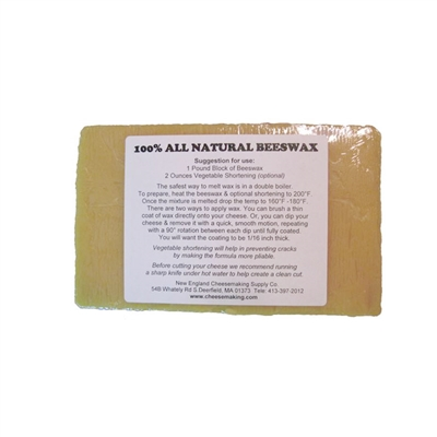All Natural Beeswax, 1 lb.
