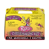 Ricki's Mozzarella & Ricotta Cheese Making Kit