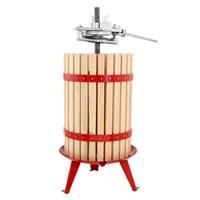 TSM Harvest Fruit & Wine Press, 30L with Ratchet Handle